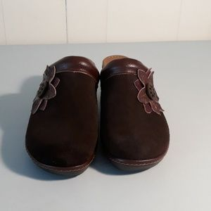 Thom Mcan leather clogs size 7